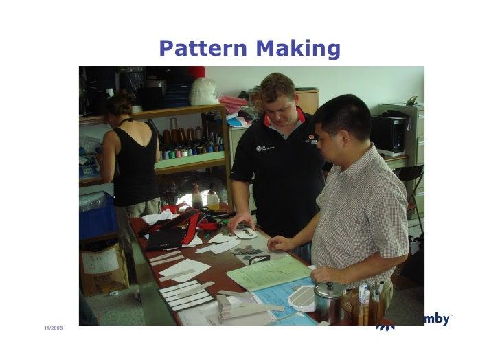 Pattern Making                                TM     11/2008