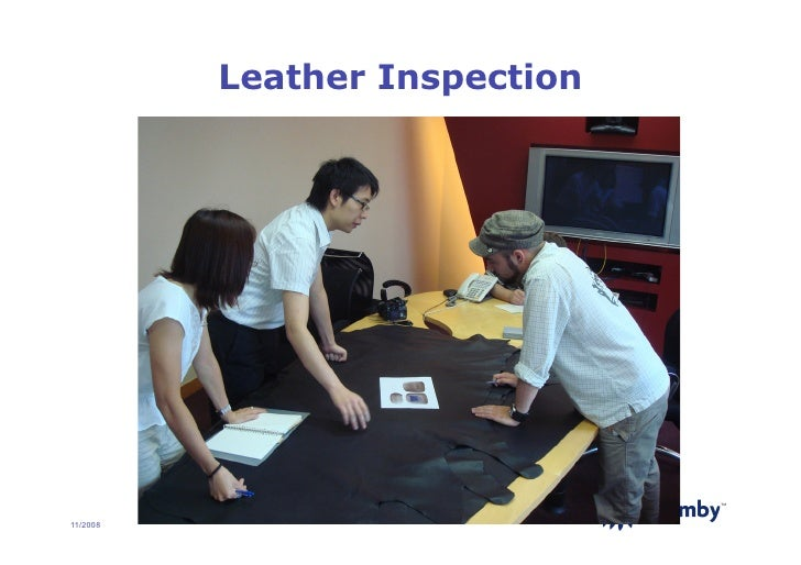 Leather Inspection                                    TM     11/2008