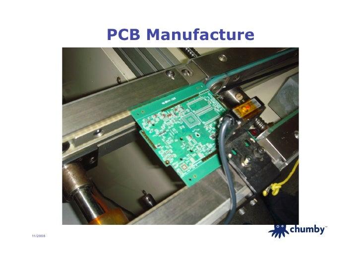 PCB Manufacture                                 TM     11/2008