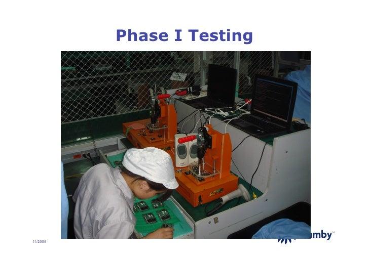 Phase I Testing                                 TM     11/2008