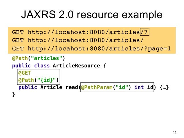 Making Java Rest With Jax Rs 20