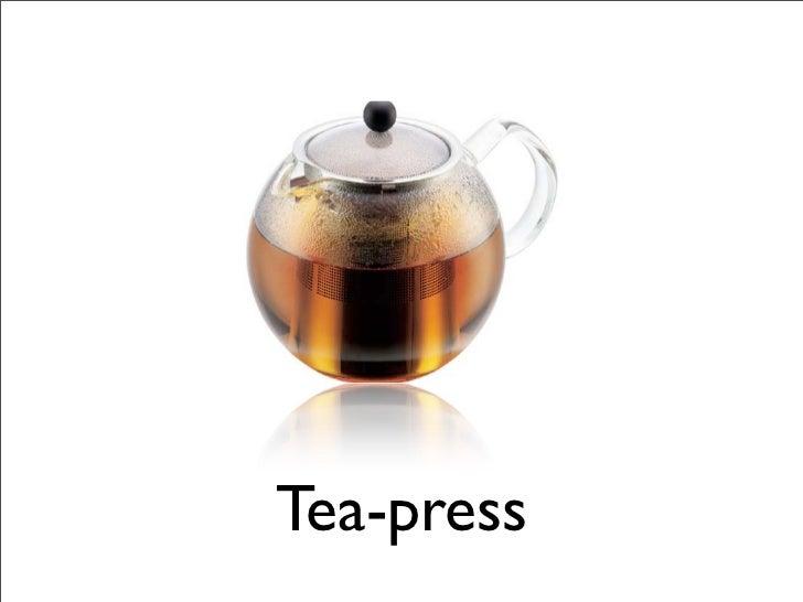 Tea-press