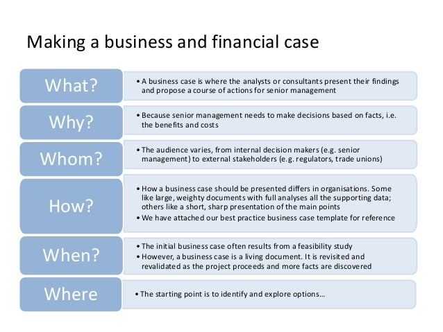 Making a business case the 10 essential sections that you need to c business case 2 wajeb Images