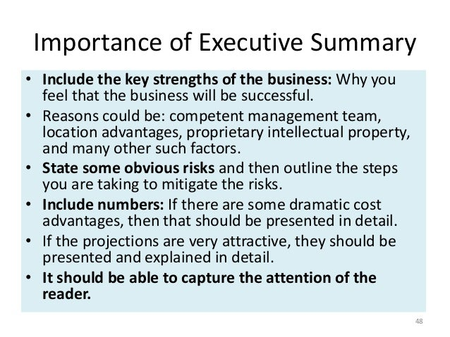 5 crucial elements of an executive summary