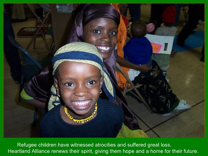 Refugee children have witnessed atrocities and suffered great loss.  Heartland Alliance renews their spirit, giving them h...