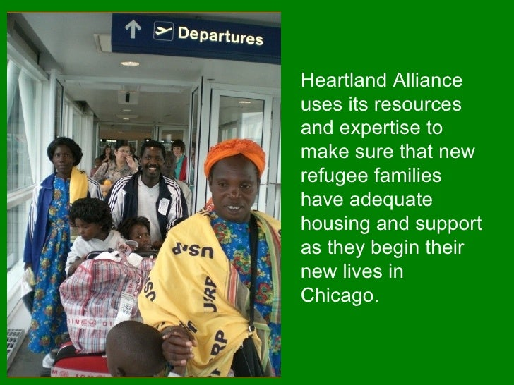 Heartland Alliance uses its resources and expertise to make sure that new refugee families have adequate housing and suppo...