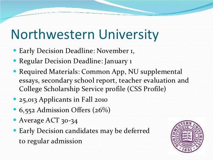 northwestern supplemental essays 2019-2020
