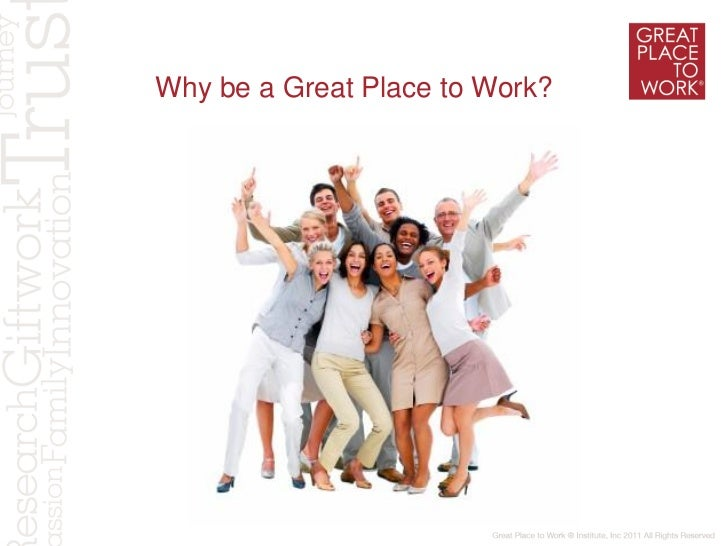 Making a Great Place to Work- Hyderabad Conference- October, 2011