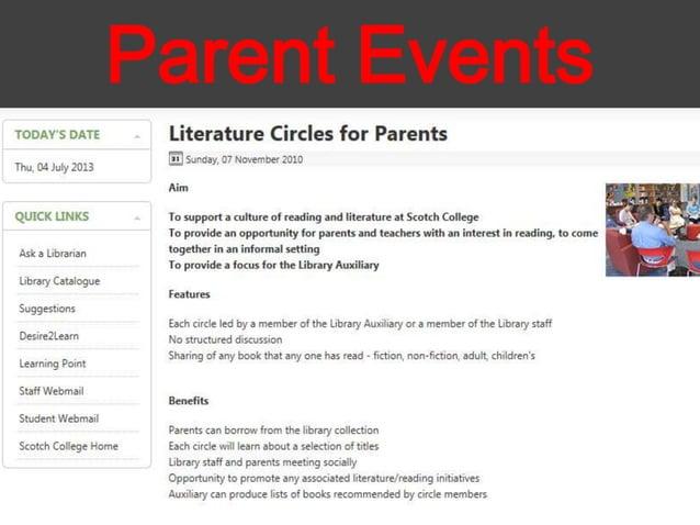 Parent Events