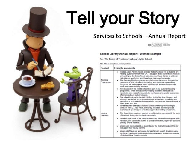 Tell your Story Services to Schools – Annual Report