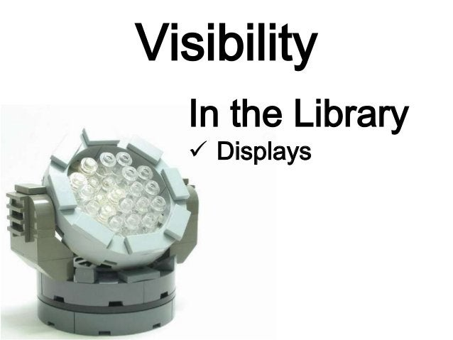 Visibility In the Library  Displays
