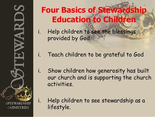 Making Faithful Stewards Of Our Children border=