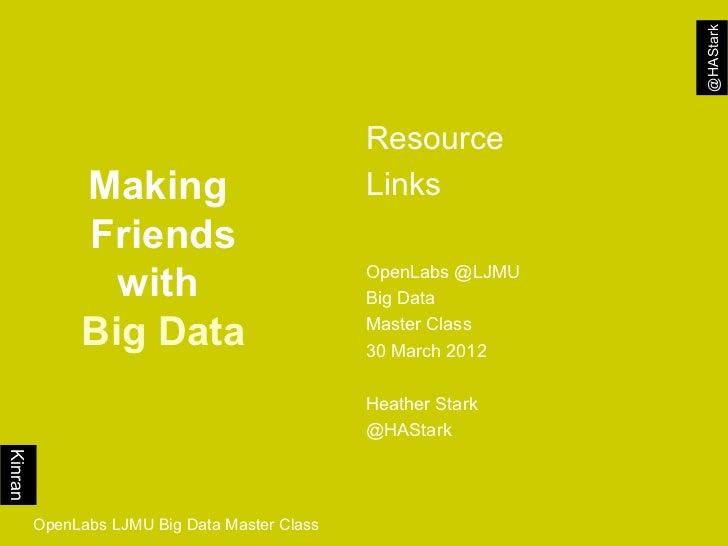 @HAStark                                               Resource              Making                           Links       ...