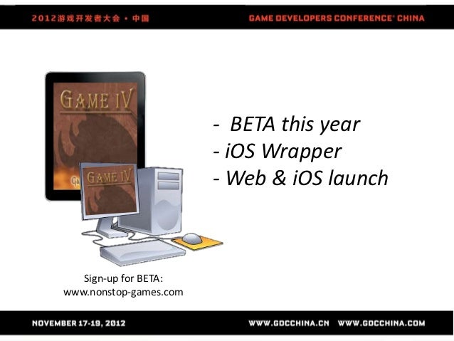 - BETA this year                        - iOS Wrapper                        - Web & iOS launch   Sign-up for BETA:www.non...