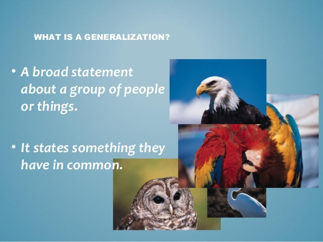 essay supporting generalization What does generalization in an example essay mean an essay will have the following: argument evidence to support argument closing paragrap.