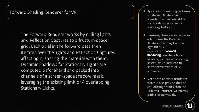 Making High Quality Interactive VR with Unreal Engine Luis