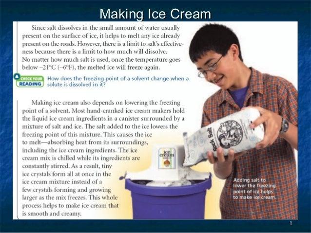 11 Making Ice CreamMaking Ice Cream