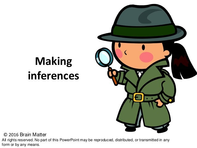 Making Inferences In Social Studies - BrainMatter