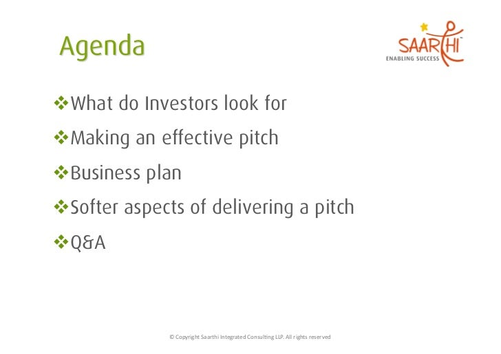 How to make a pitch for Angels & VCs Slide 2