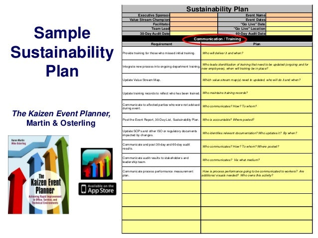 Sustainability plan sample sustainability plan pronofoot35fo Gallery