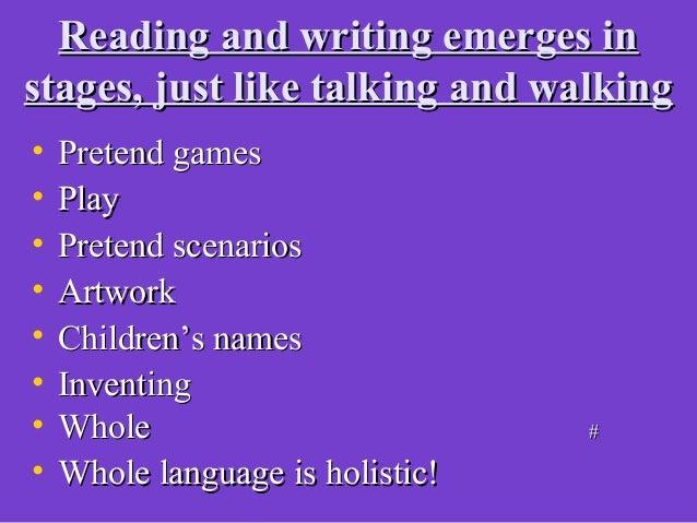 ImmersionImmersionAt HomeAt Home• SpeakingSpeaking• Functional printFunctional printAt SchoolAt School• Sings, labels, lis...