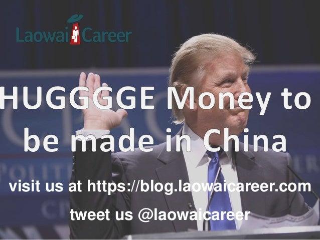 visit us at https://blog.laowaicareer.com tweet us @laowaicareer