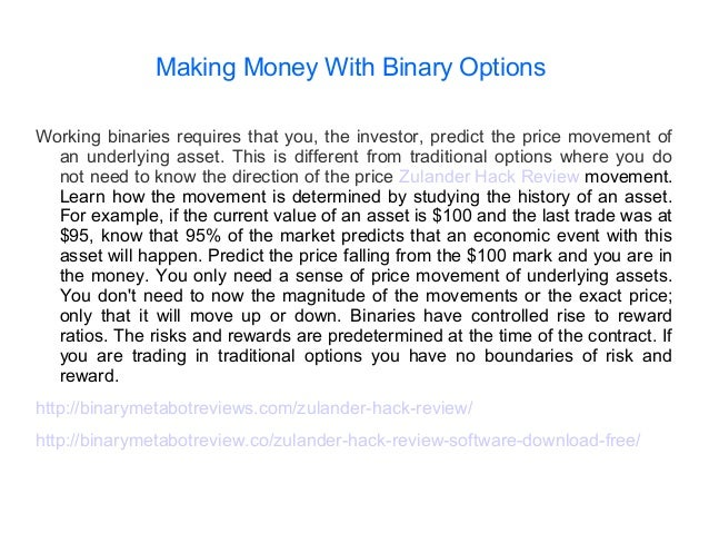 Options trading income potential