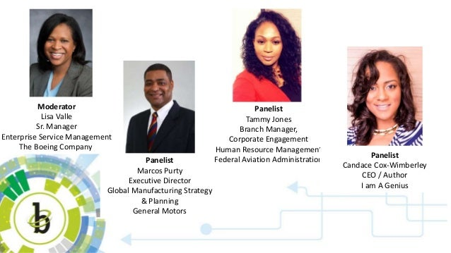 Moderator Lisa Valle Sr. Manager Enterprise Service Management The Boeing Company Panelist Marcos Purty Executive Director...