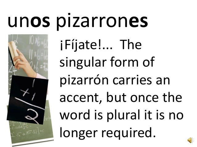 Making nouns plural in Spanish