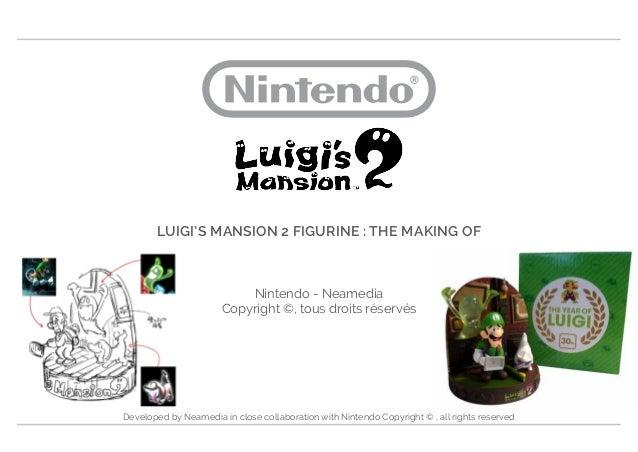 Luigi S Mansion 2 Figurine The Making Of