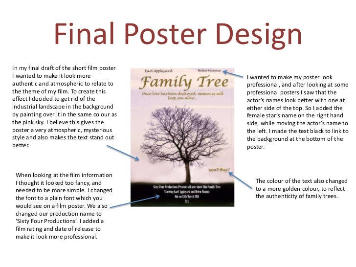 poster making on plant more trees