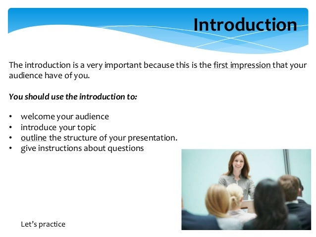 making presentations nd edit 18 introducing your topic