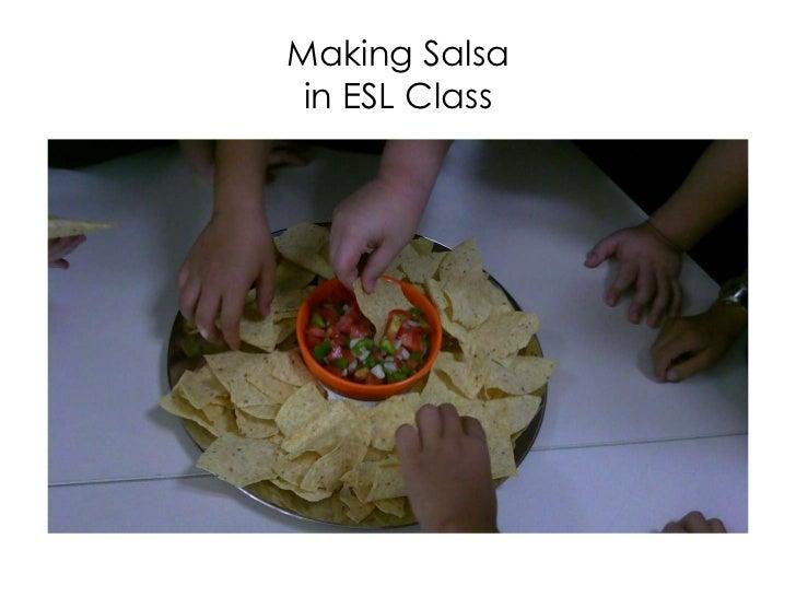 Making Salsain ESL Class<br />