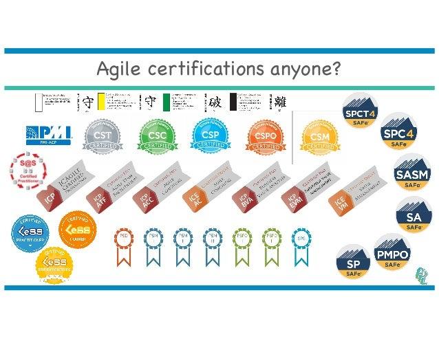 making sense of agile certifications