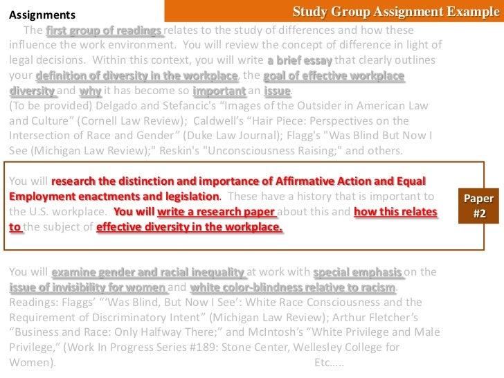 diversity in the workplace research papers Video: cultural diversity in the workplace: definition, trends & examples cultural diversity is a form of appreciating the differences in individuals the differences can be based on gender, age, sex, ethnicity, sexual orientation, and social status.