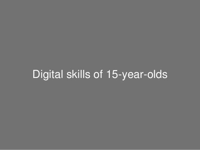 Digital skills of 15-year-olds