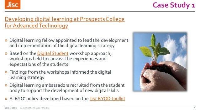 Case Study 1 Developing digital learning at Prospects College for AdvancedTechnology » Digital learning fellow appointed t...