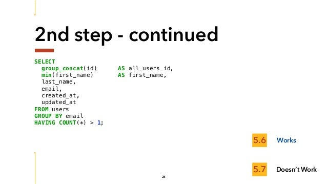 SunshinePHP 2017 - Making the most out of MySQL