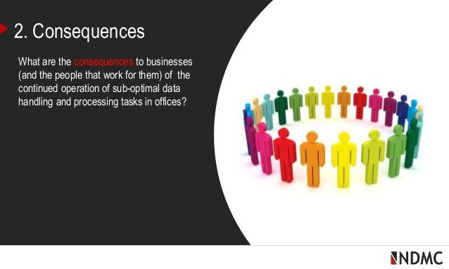 | 2. Consequences What are the consequences to businesses (and the people that work for them) of the continued operation o...