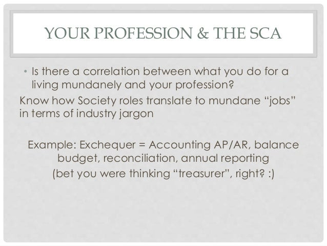 making the sca work for you