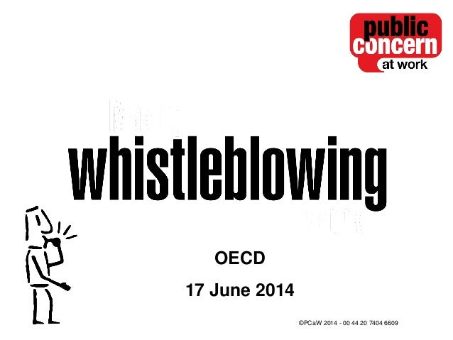 Whistleblowing for employees