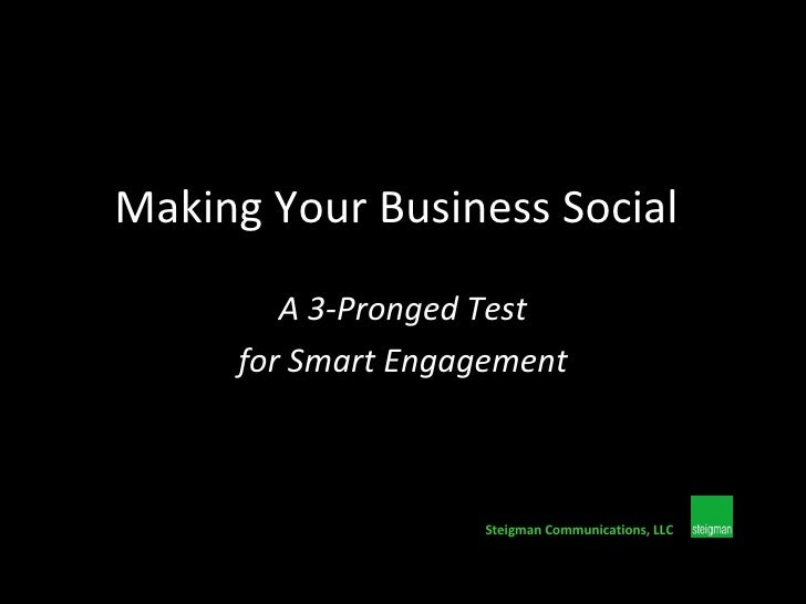 Making Your Business Social