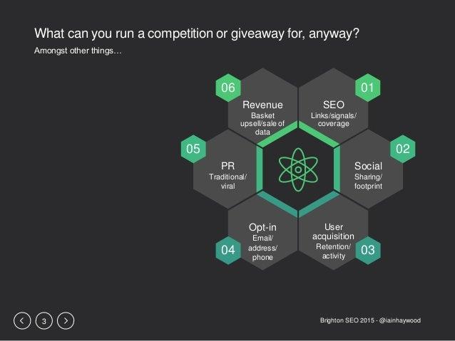 Making your Competitions Fun - Iain Haywood - Brighton SEO 2015 Presentation Slide 3