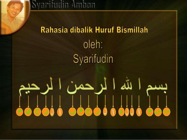 LatarbelakangMenurut hadis Rasulullah yang diriwayatkan oleh IbnuMarduwai berasal dari bin Jabir bin Abdullah dijelaskan b...