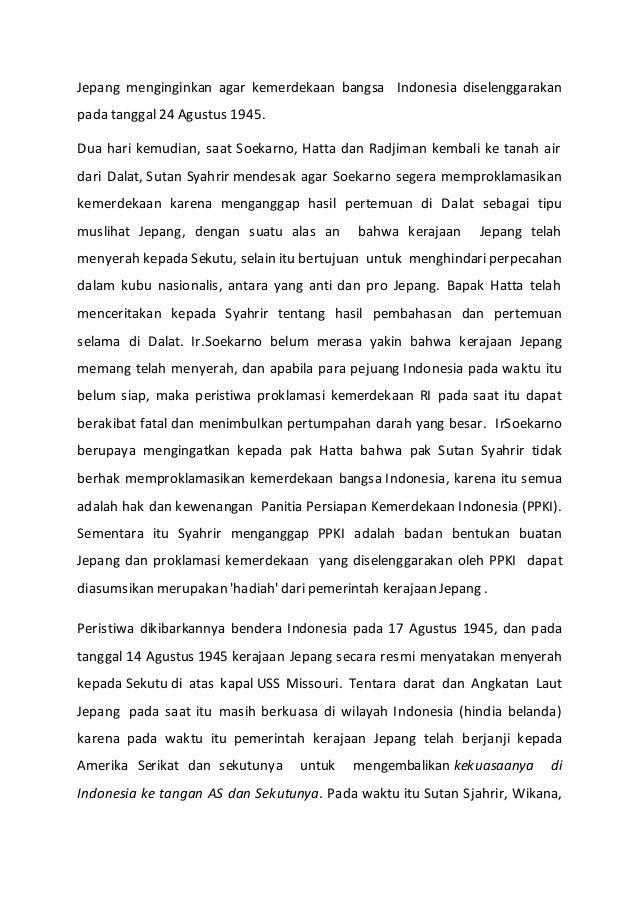 Makna Proklamasi Kemerdekaan Ke 70 Tanggal 17 Agustus 2015 Akbp Dadan