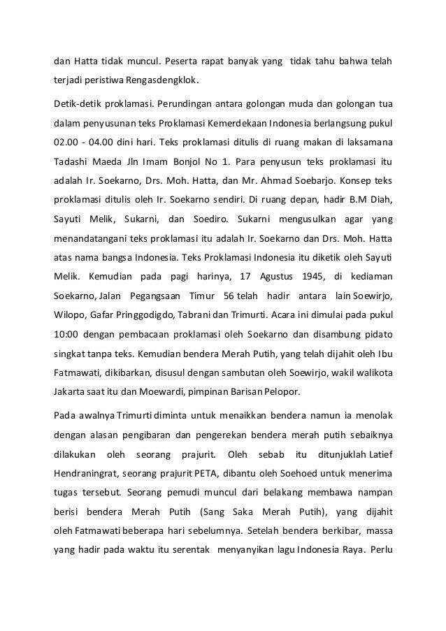 Pidato 17 Agustus Bahasa Indonesia Lukisan