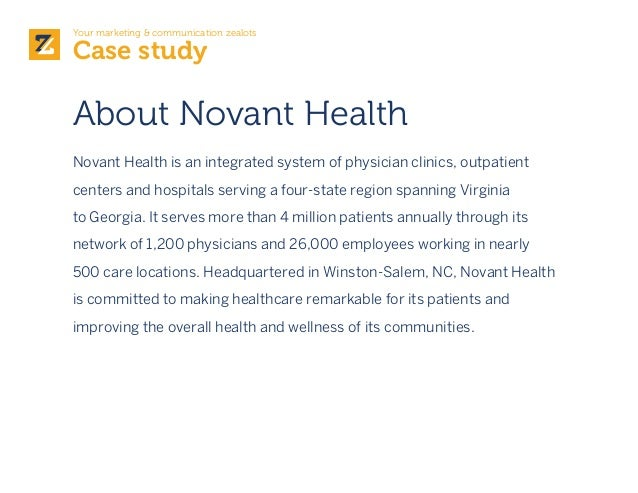 partners healthcare system case study Partners healthcare, the largest health system in massachusetts, is the parent   is a commitment to transparent data sharing and analysis.