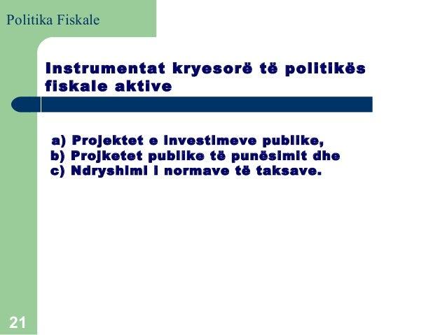 22dy_Makro : politika fiskale