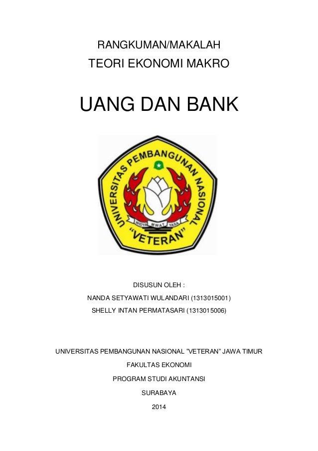 Makalah Uang Dan Bank Ekonomika Makro