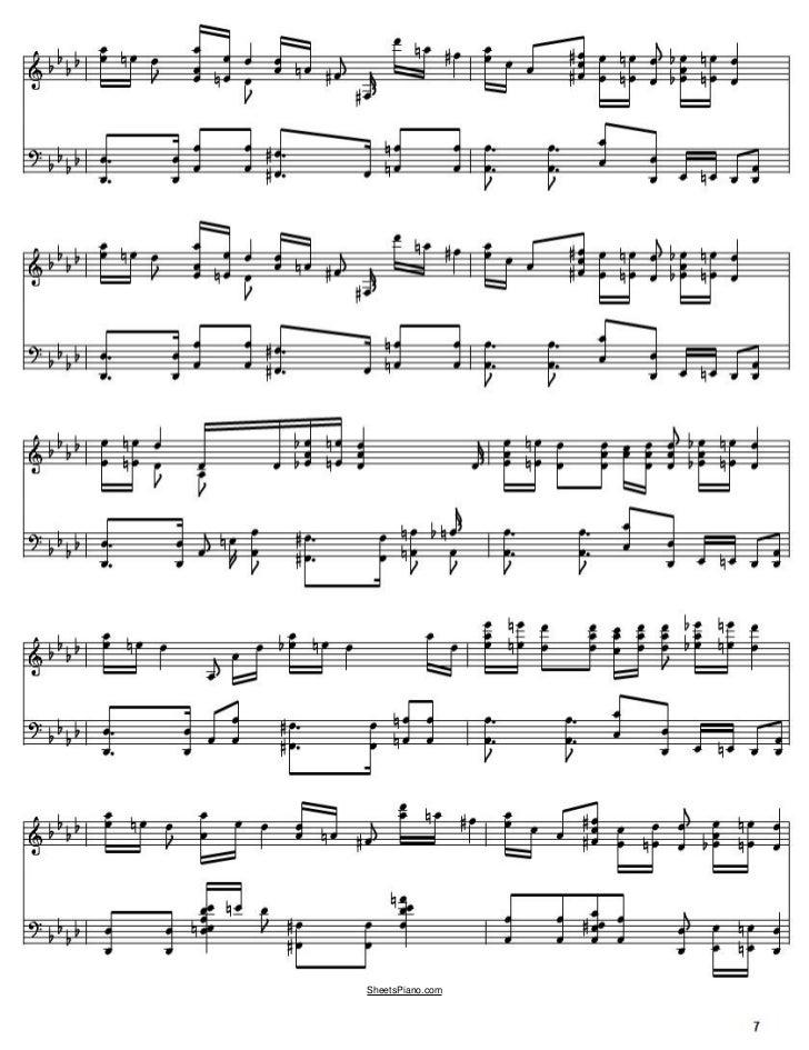 croatian rhapsody piano sheet music pdf